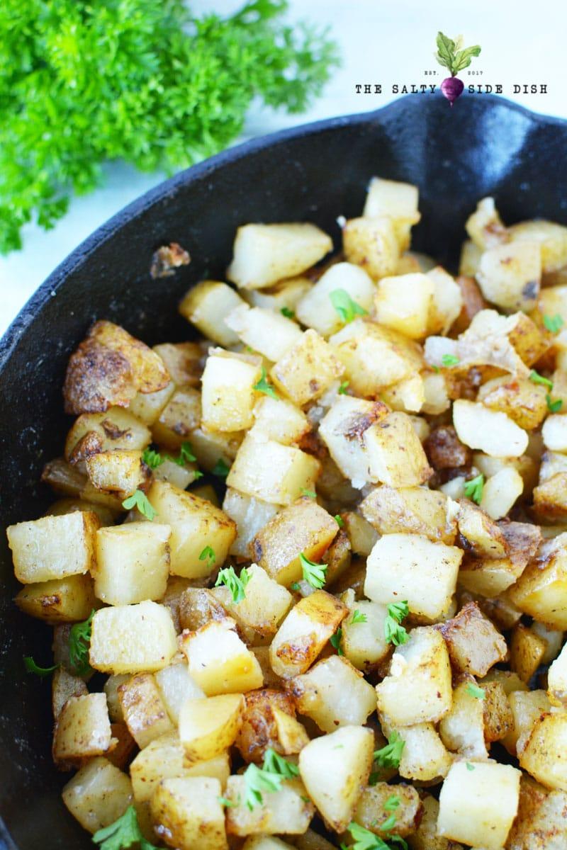 home fries skillet for breakfast