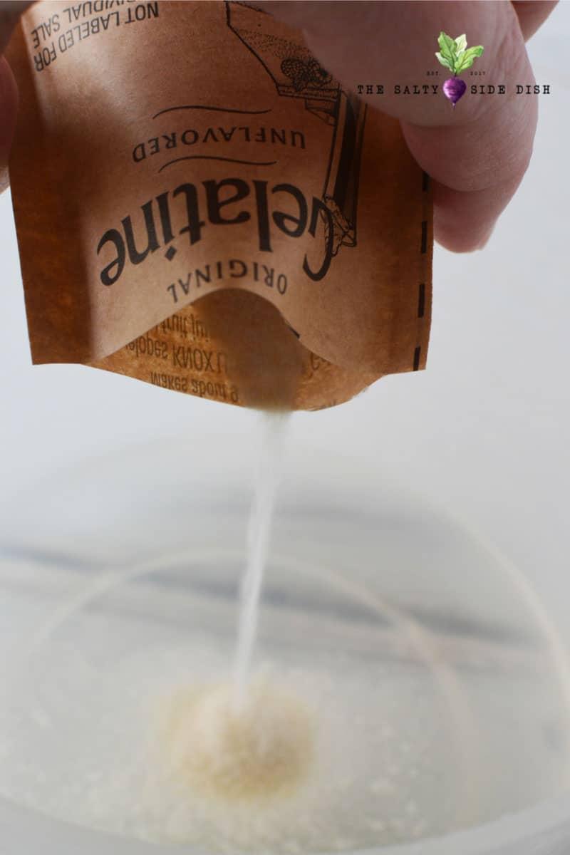 add gelatin to your shots