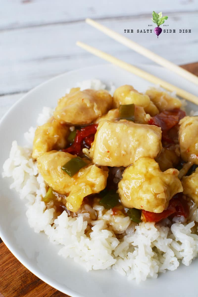 Easy General Tso's Chicken Recipe, an easy Chinese restaurant copycat recipe