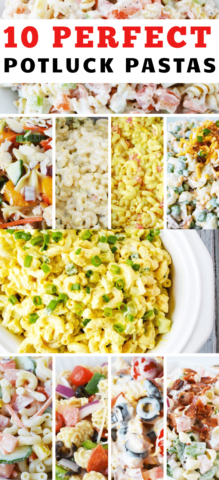 Potluck Pasta Salad Recipe Side Dishes , 10 Perfect Potluck Pasta Salad Recipe Side Dishes for picnics and holidays, major crowd pleasing recipes #potluck #pasta #salad #recipe #bbq