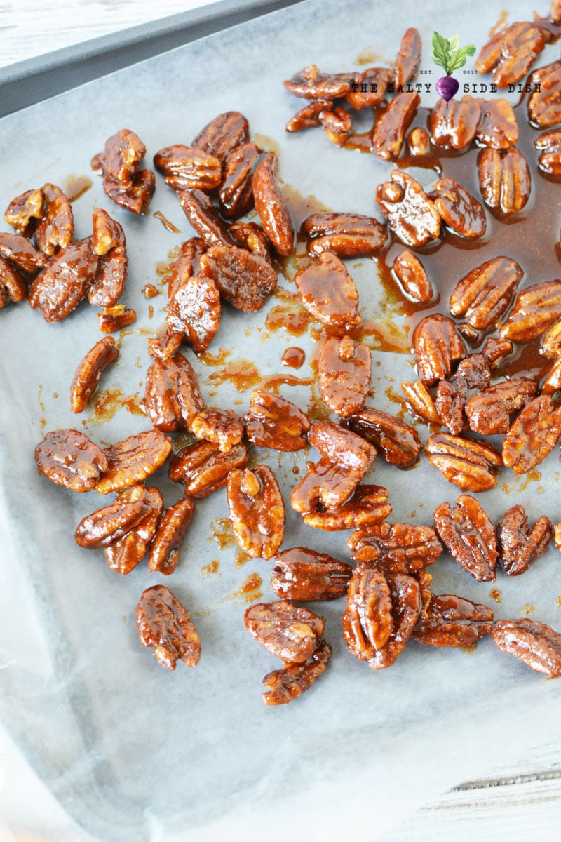 candied pecans easy