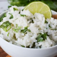Easy Cilantro Lime Rice Recipe