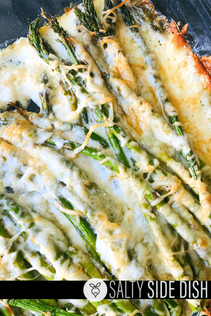 Cheesy Asparagus Baked | KETO LOW CARB