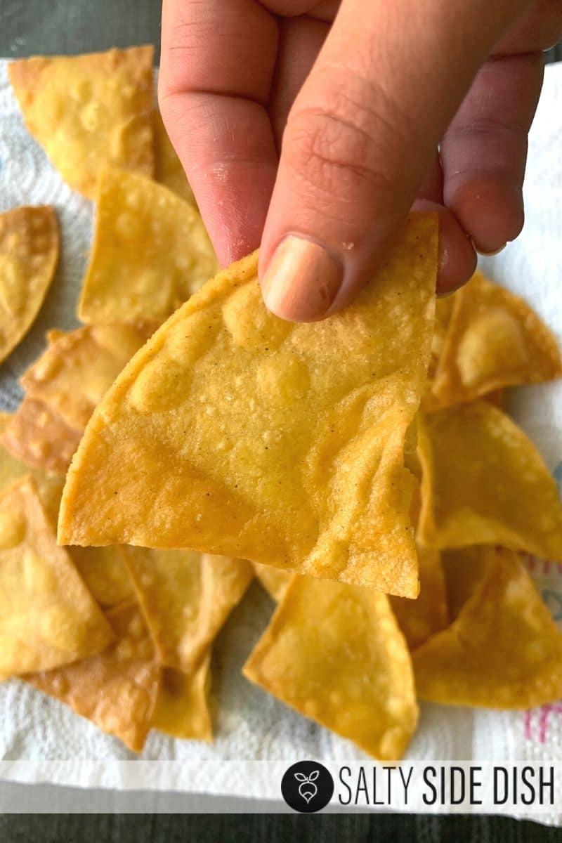 how to make restaurant style tortilla chips from home