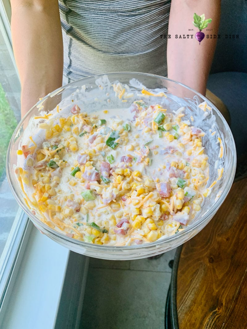 huge party dip in a bowl