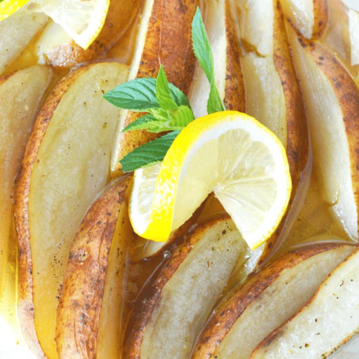 Greek Style Potatoes with Lemon