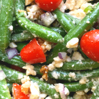 Green Bean Salad with Feta and Tomatoes