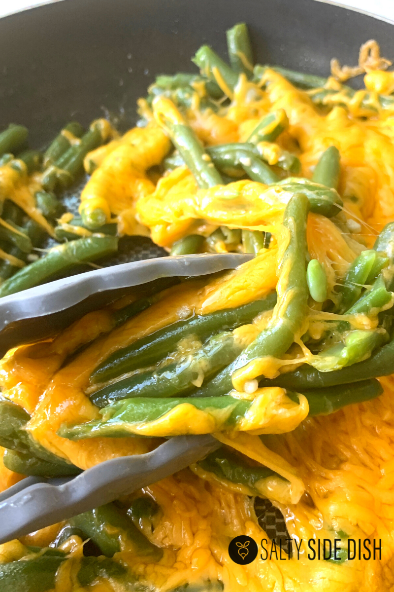 green beans with cheese