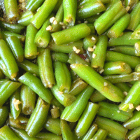 Seasoned Green Beans | Keto