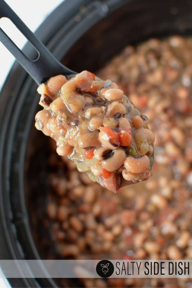 amazing hoppin john recipe ready to scoop and serve