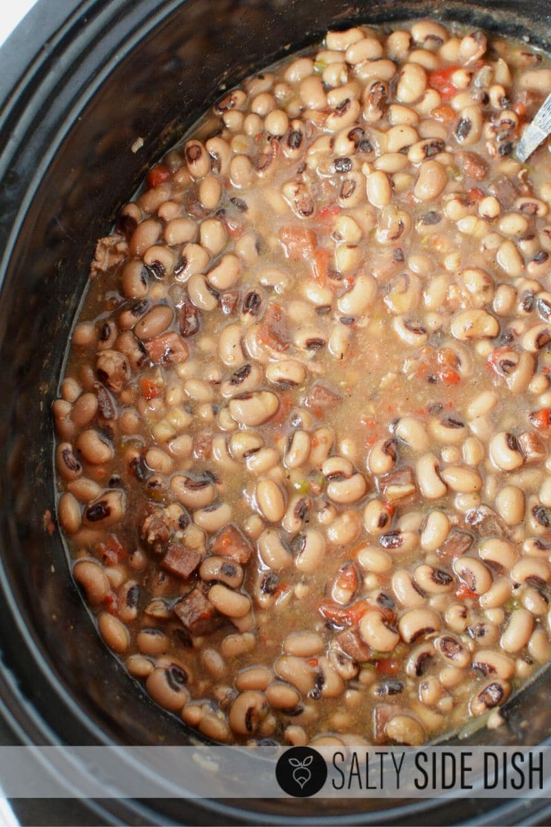 Hoppin John in a slow cooker