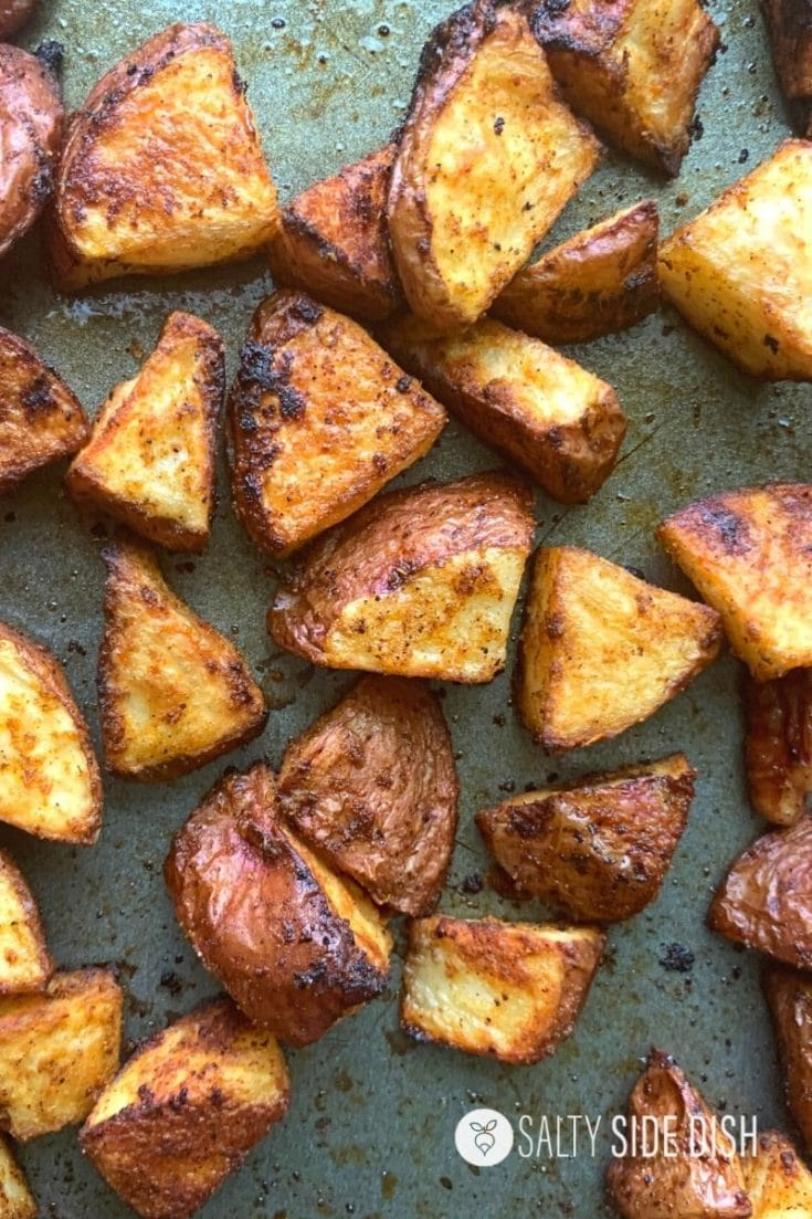 Oven Roasted Red Potatoes {Crispy Skins}