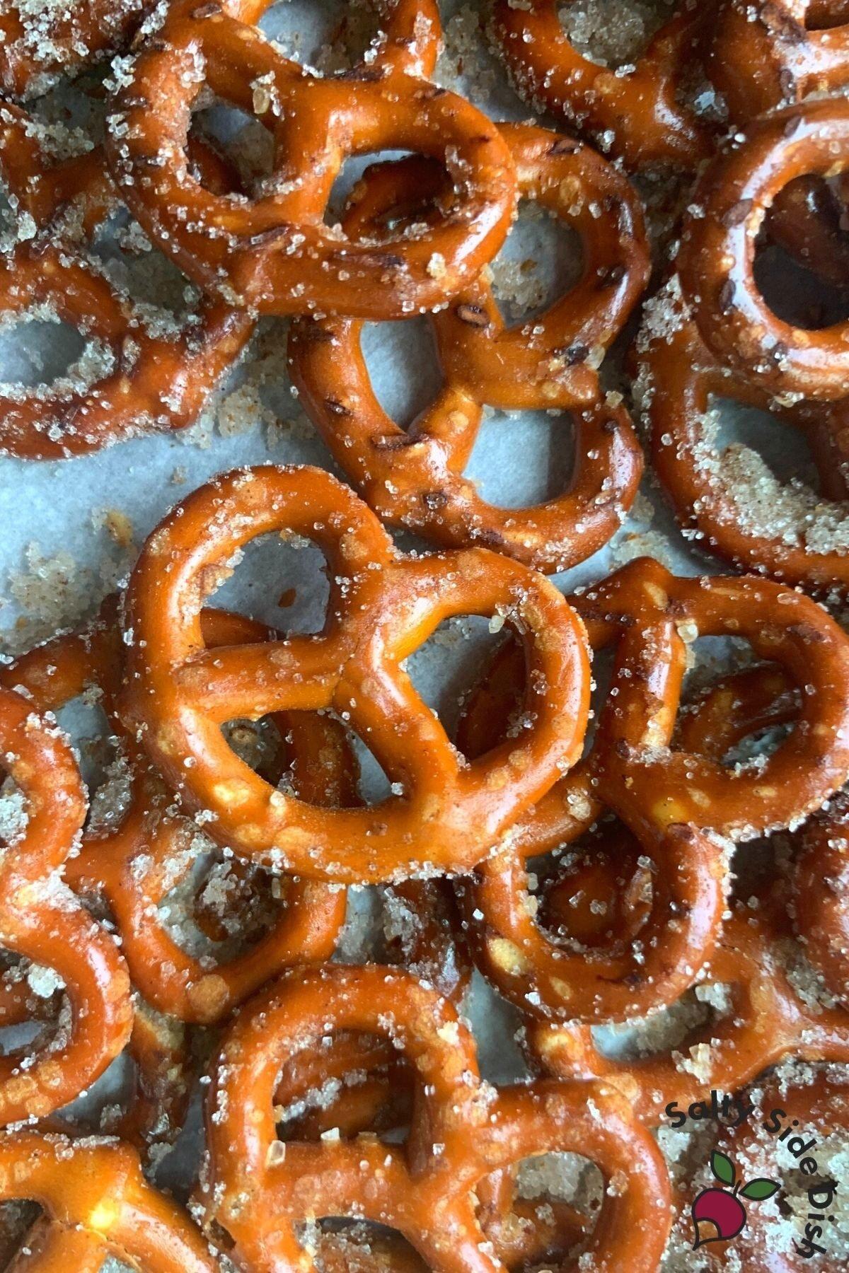 Cinnamon Sugar Pretzels recipe.