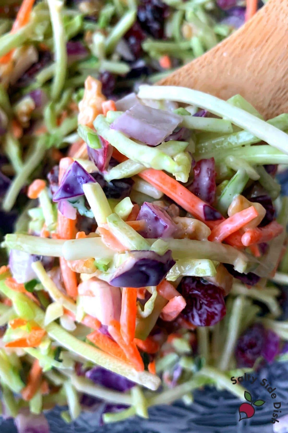 easy keto broccoli slaw
