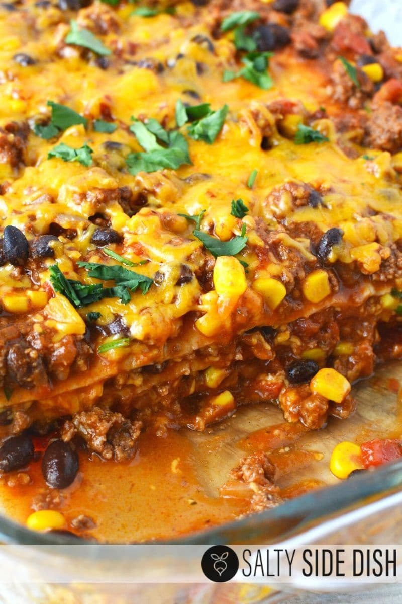 ooh gooey cheesy mexican casserole bake