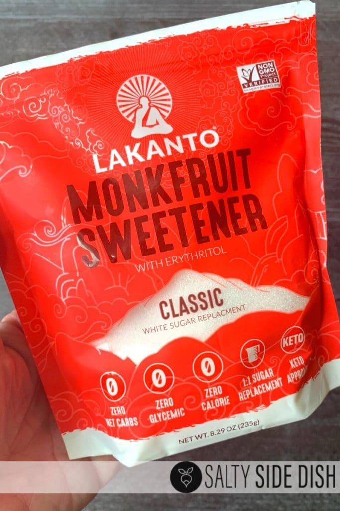 monk fruit sweetner