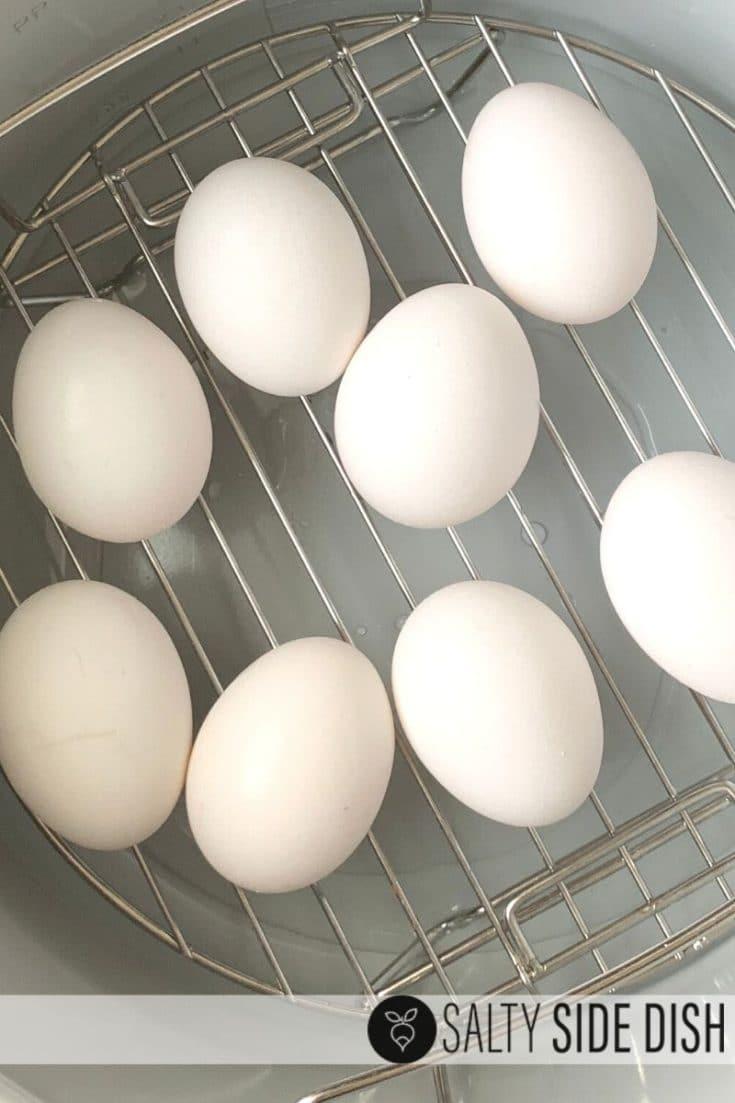 Ninja Foodi Hard Boiled Eggs