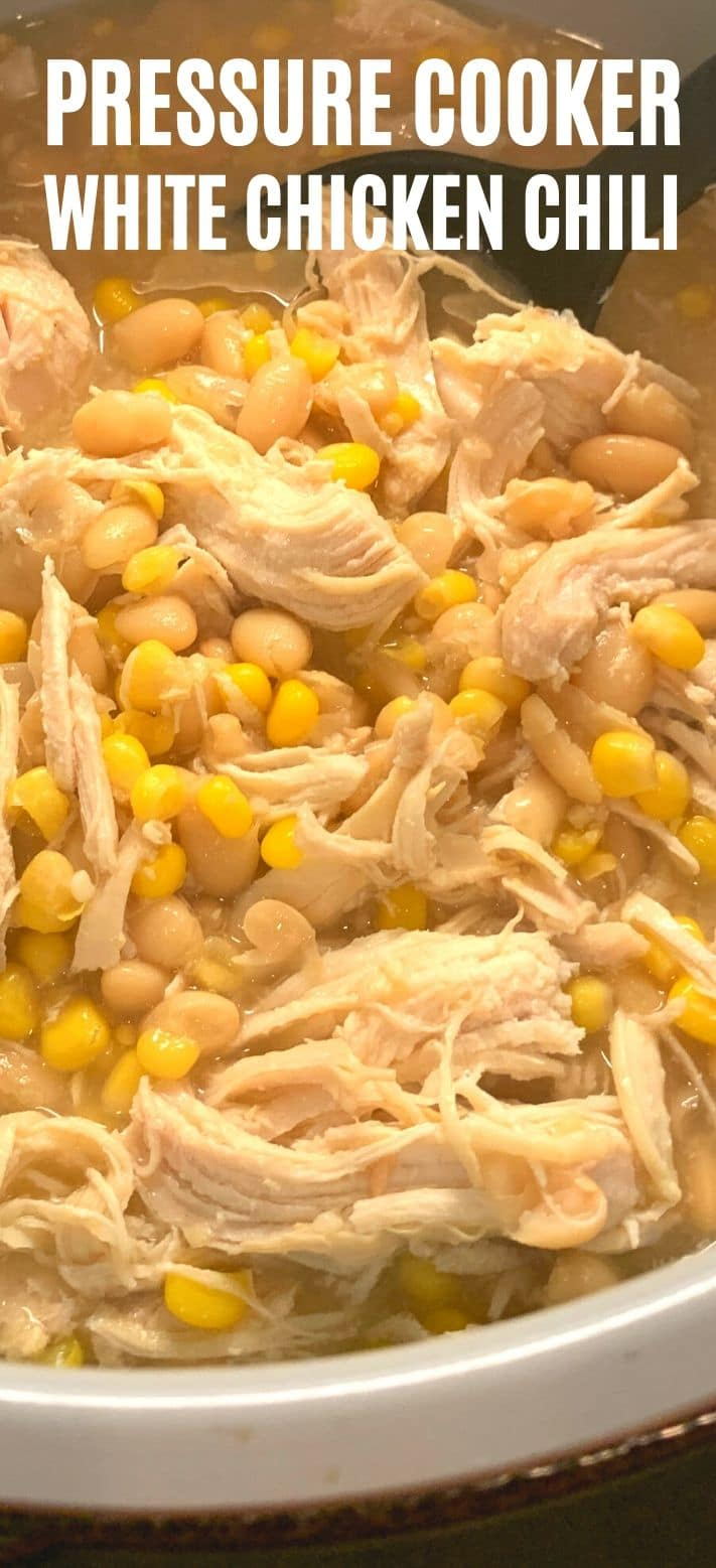 Pressure Cooker White Chicken Chili Recipe