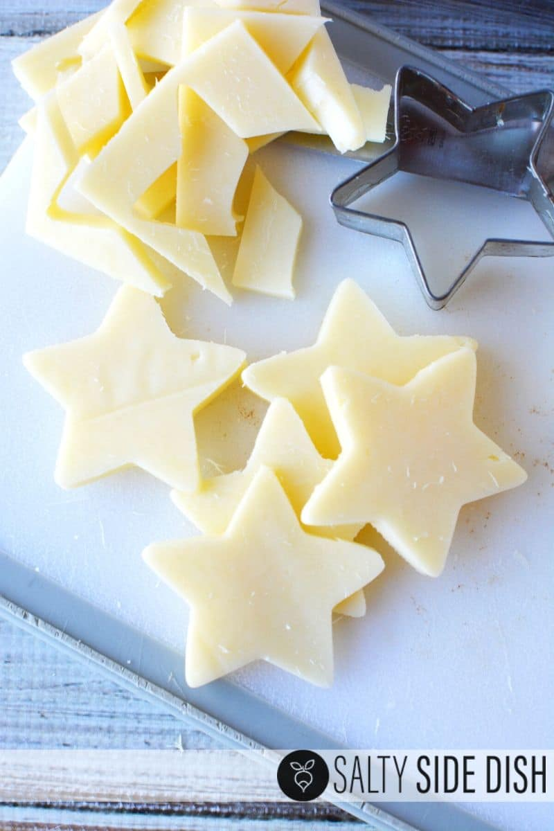 Make cheese stars for your july 4th appetizer tray