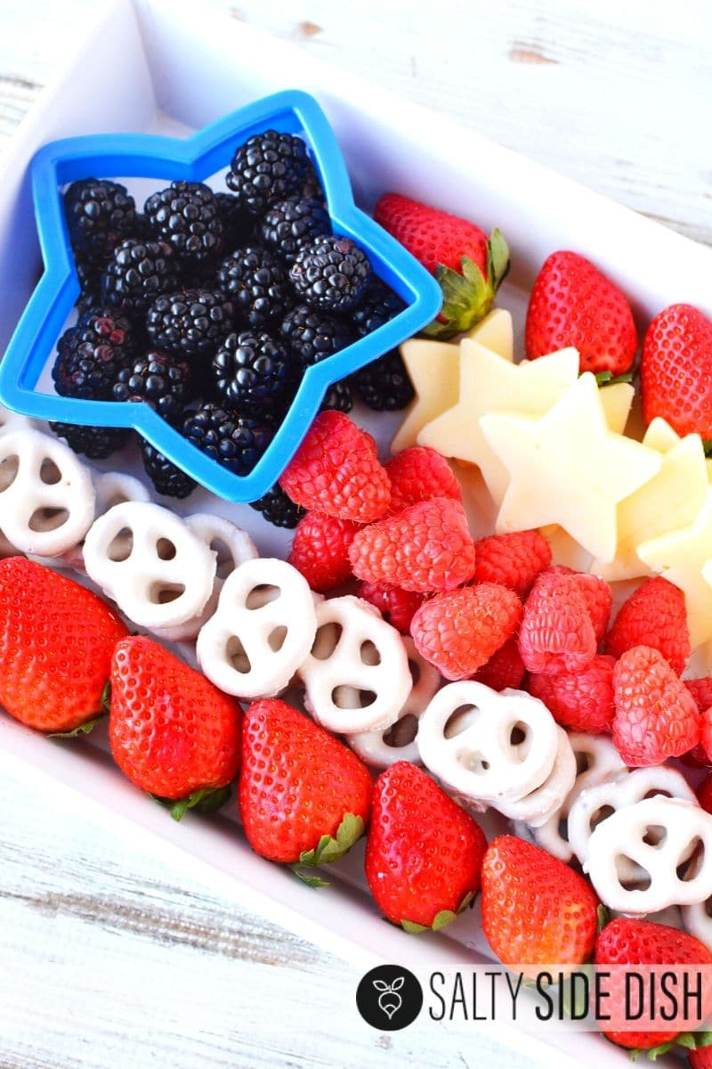 How to make a Flag Fruit Appetizer Tray