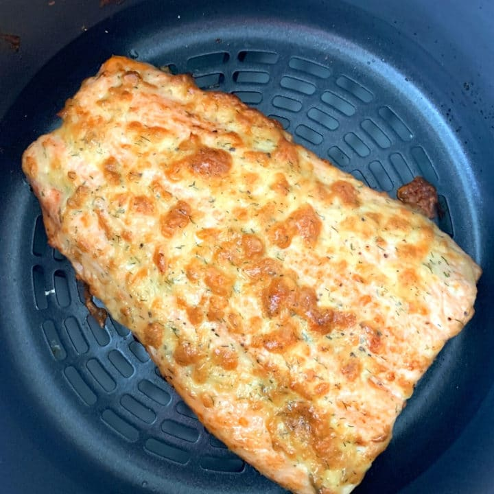 Air Fryer Salmon (Ninja Foodi)