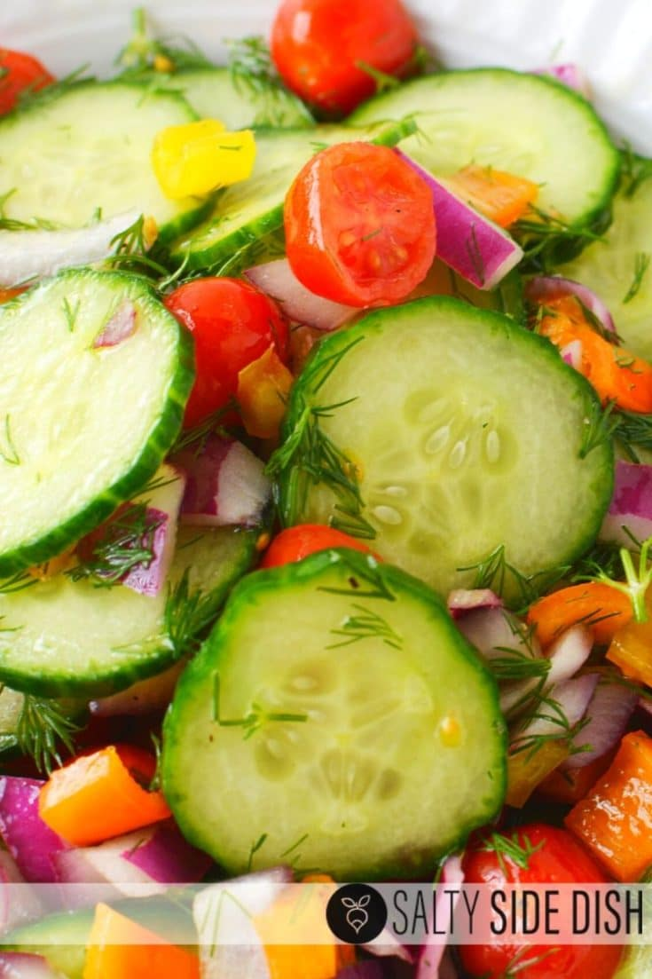 Cucumber Salad with Vinegar Recipe