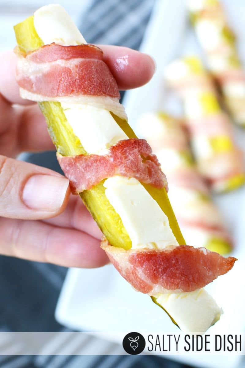bacon wrapped pickles make easy under 20 minute appetizers