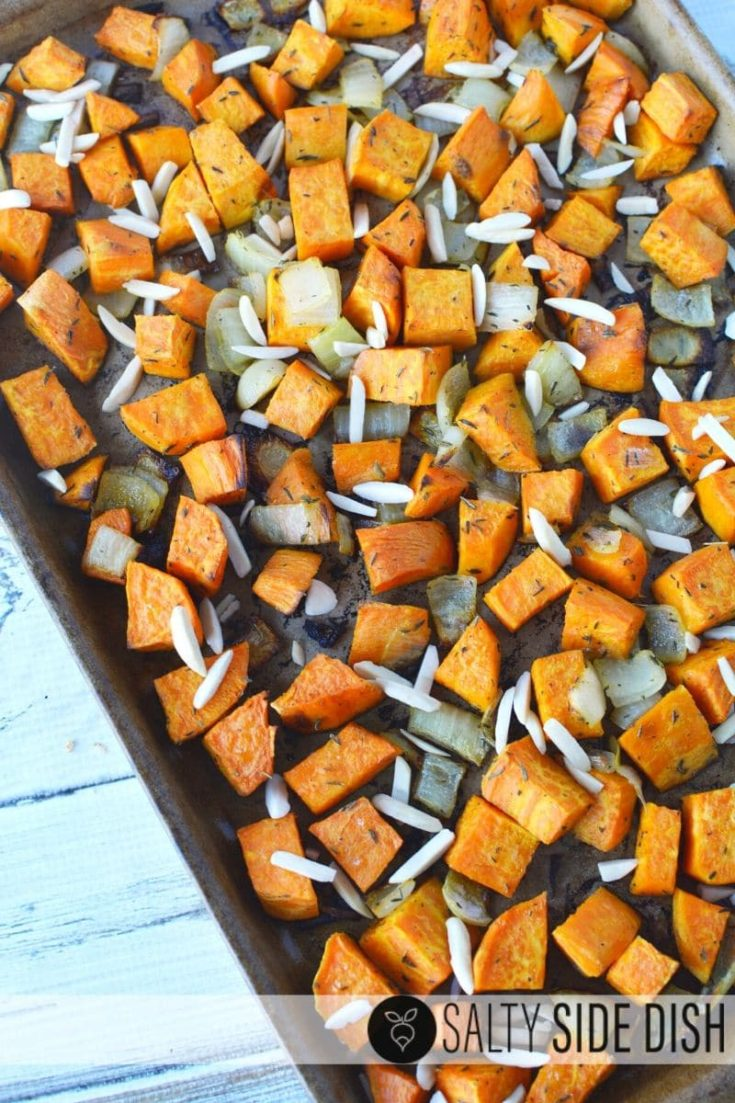 Roasted Sweet Potatoes and Onions Recipe