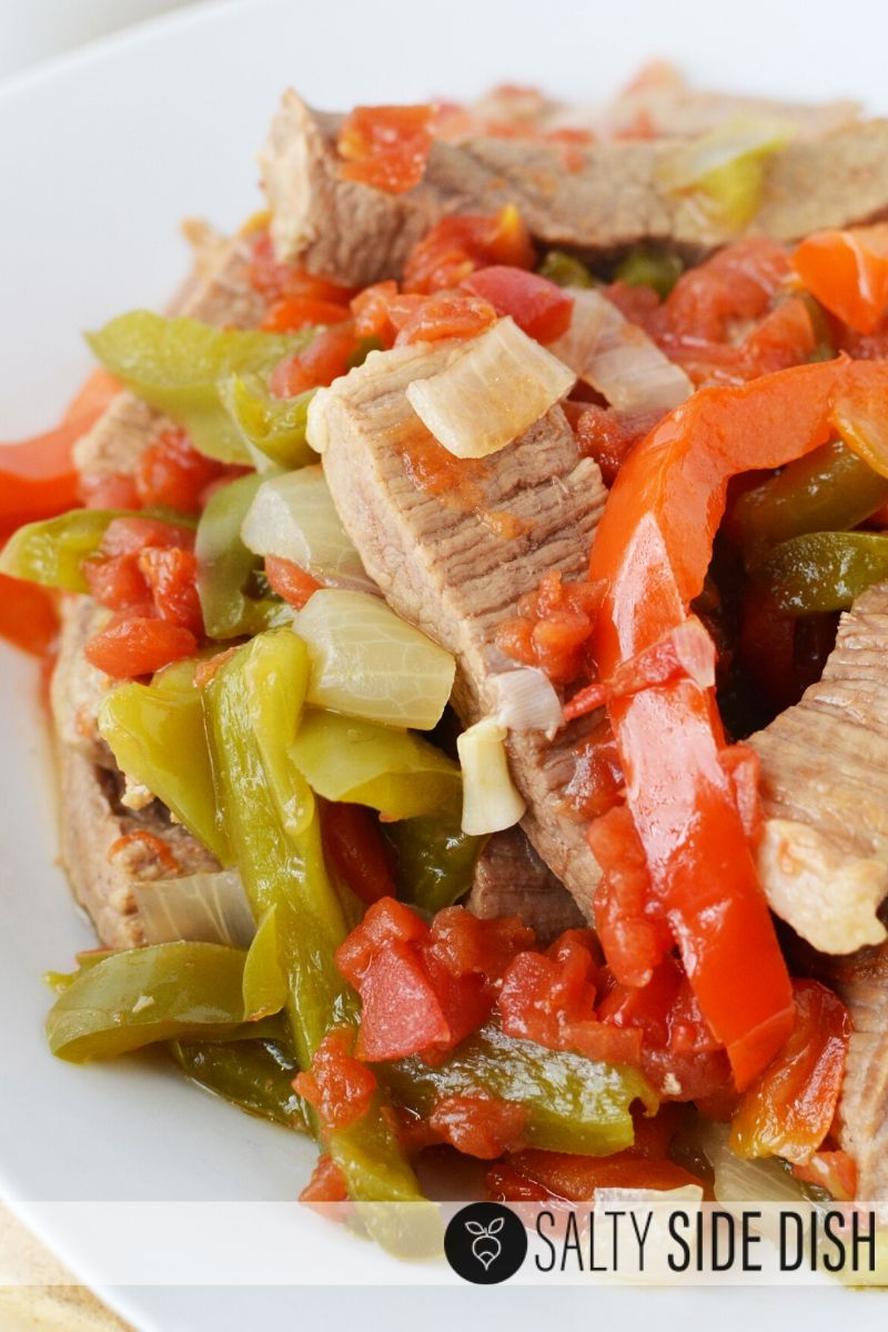 beef pepper steak recipe with onions and peppers