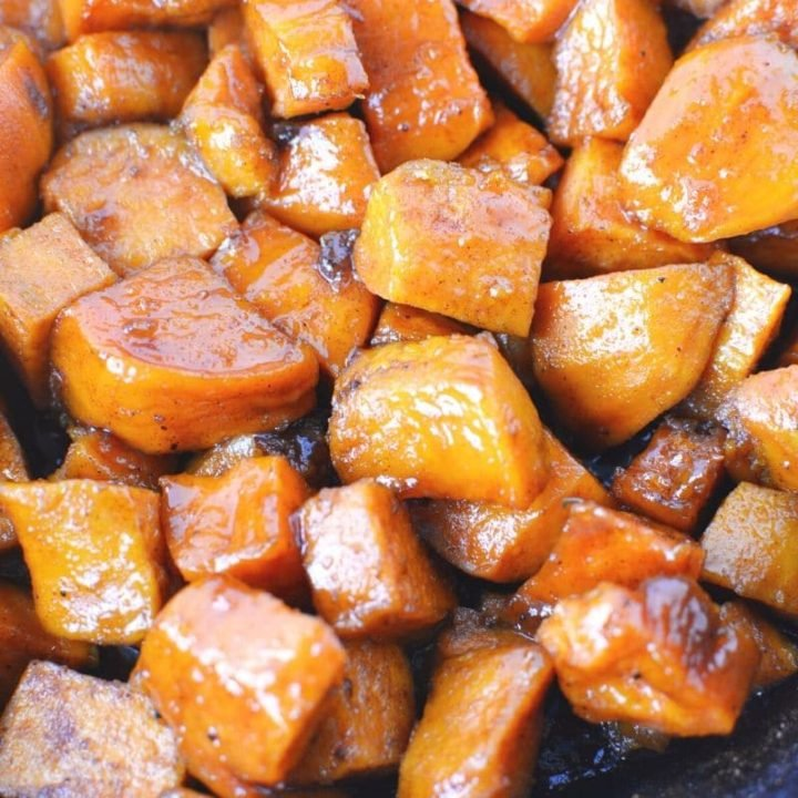 Candied Sweet Potatoes with Brown Sugar Butter