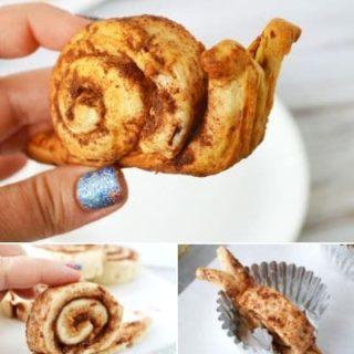 Cinnamon Snail Cinnamon Rolls