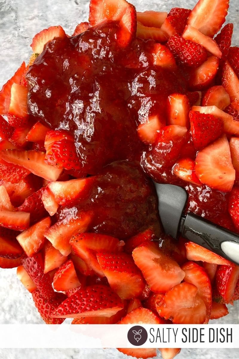 strawberries and preserves