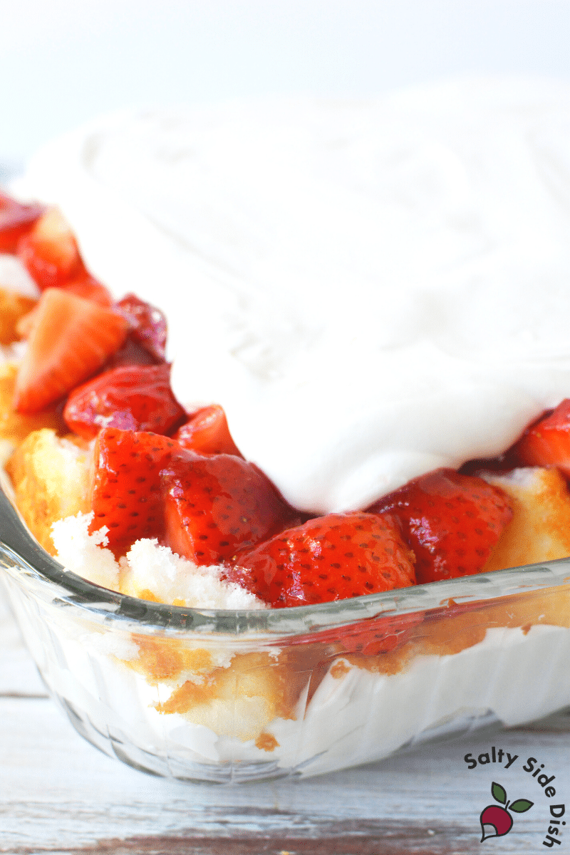 strawberry short cake casserole