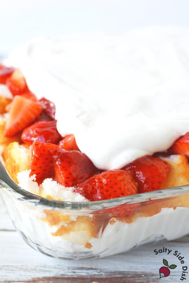 strawberry casserole shortcake