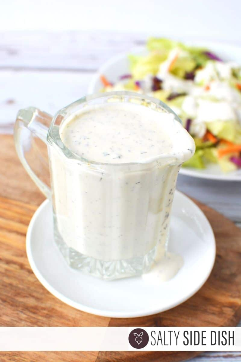 homemade ranch dressing ingredients