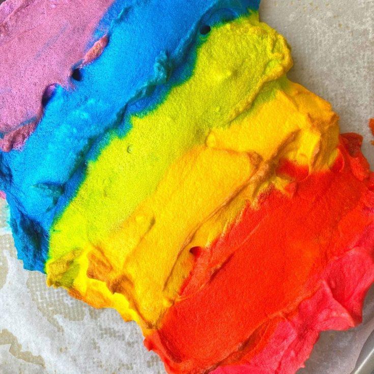 Rainbow Cloud Bread (TikTok Viral!)