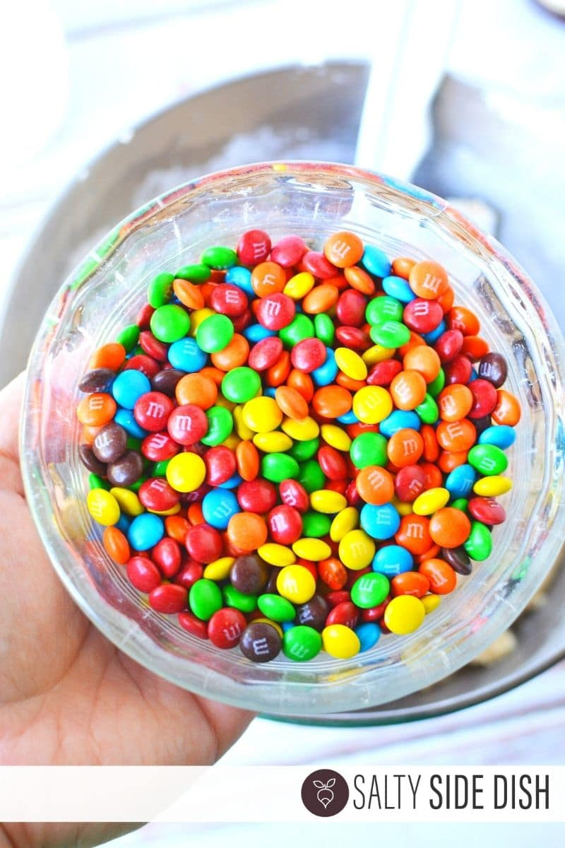best candies to put in easy no bake edible cookie dough