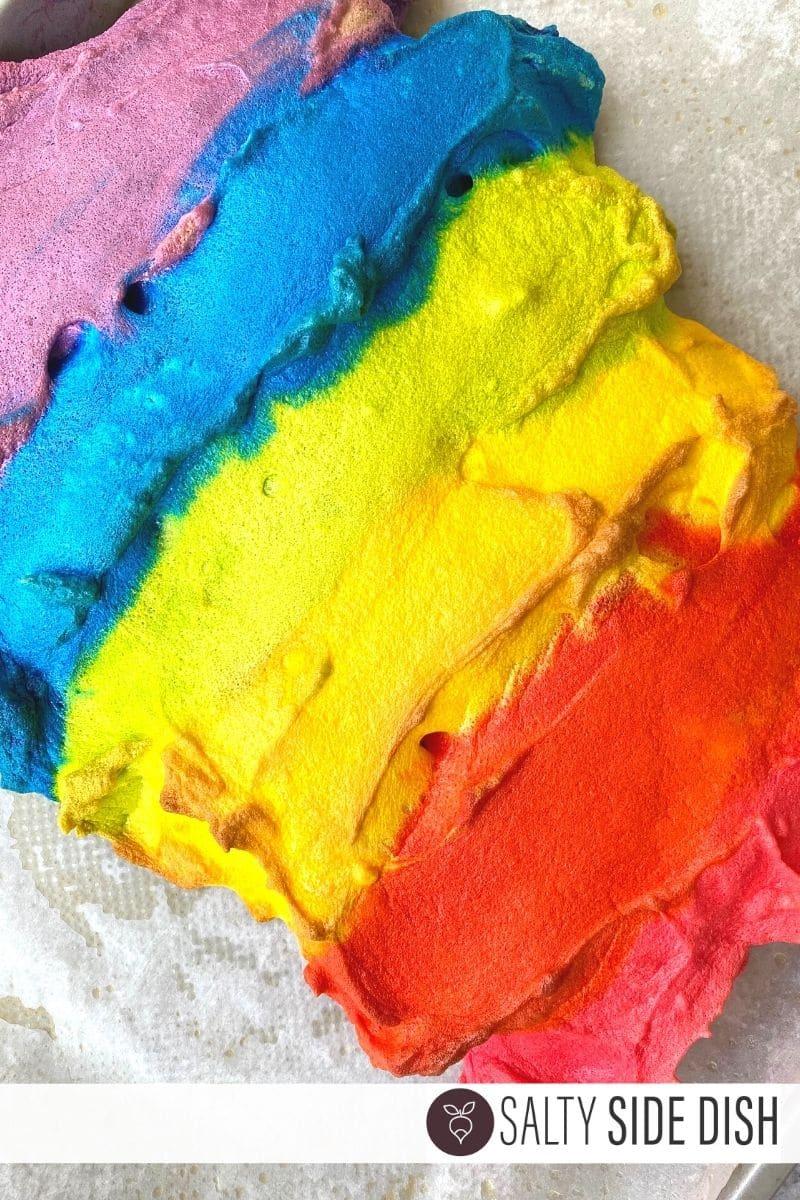 rainbow cloud bread