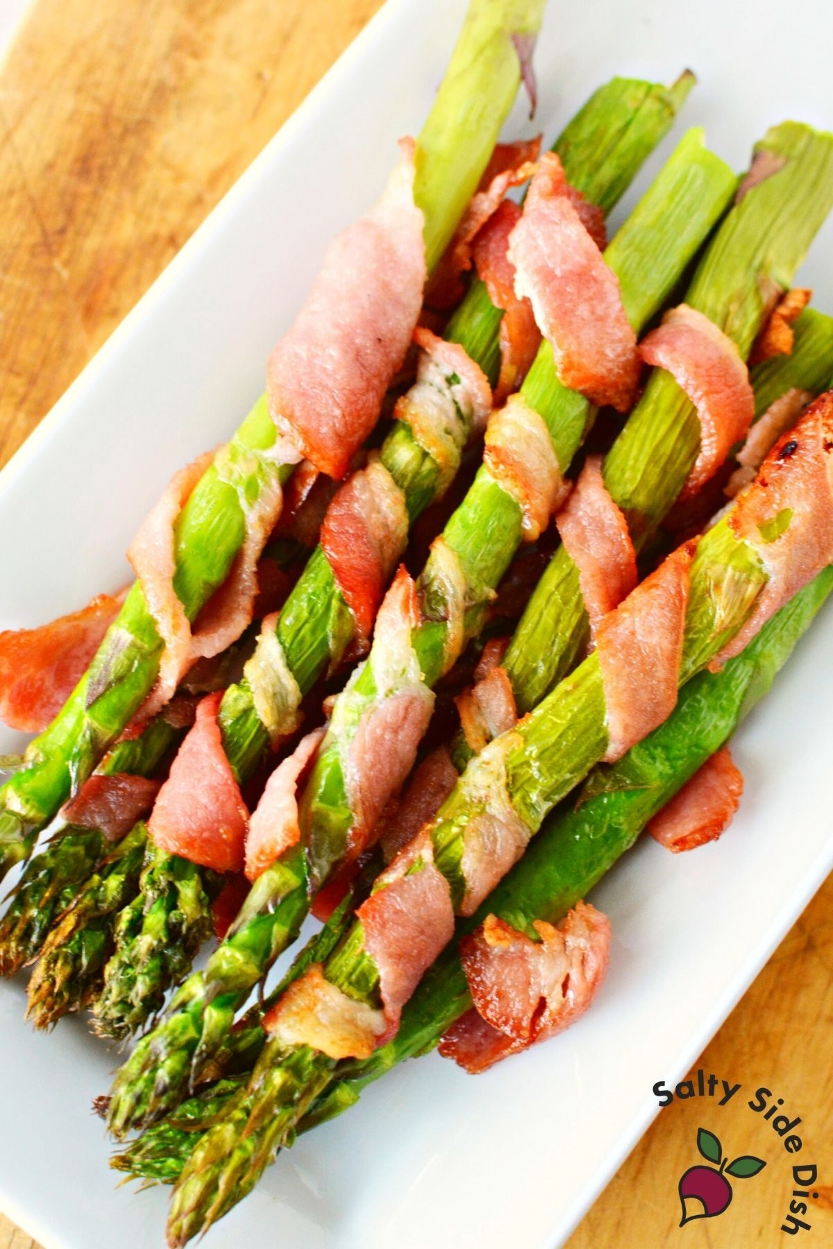 asparagus bacon wrapped from air fryer.