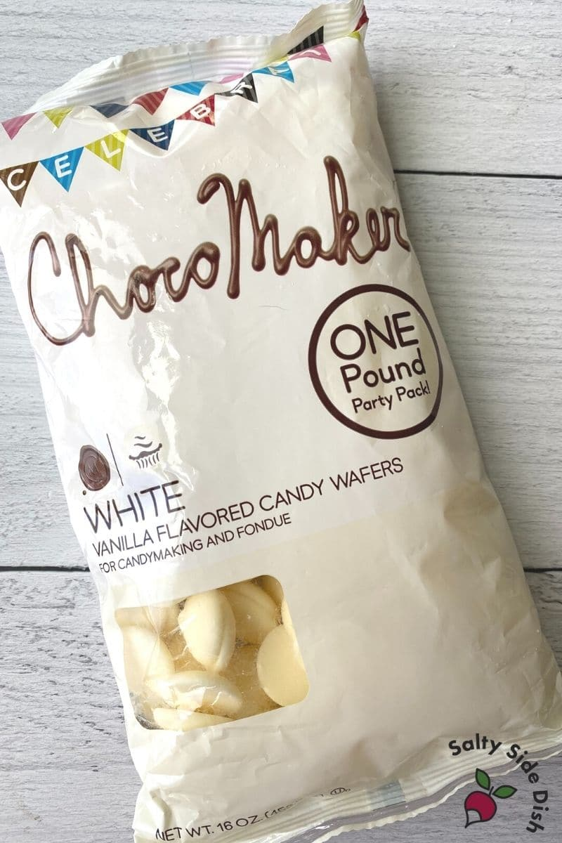 one pound of chocomaker white chocolate