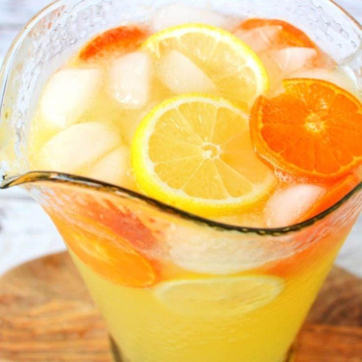 Sparkling Citrus Punch (Non-Alcoholic)