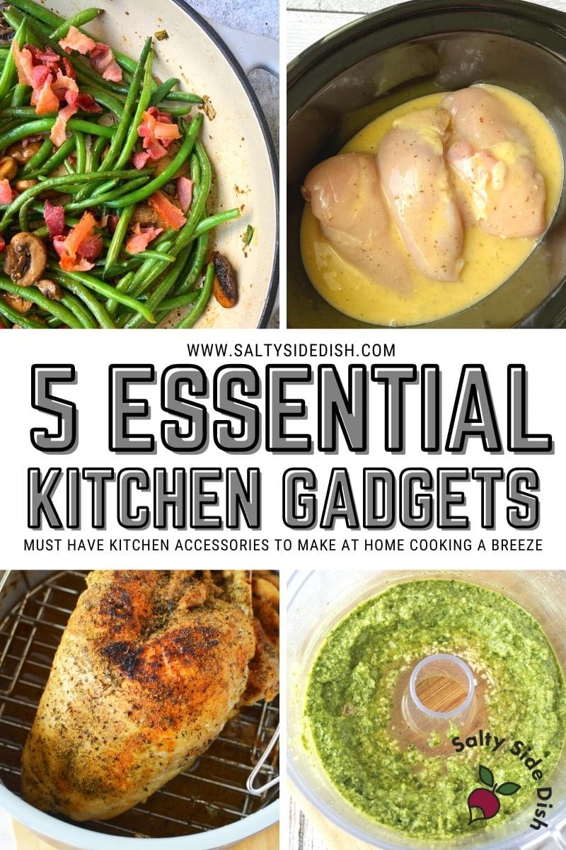Must have kitchen items like a slow cooker, food processor, pressure cooker and air fryer