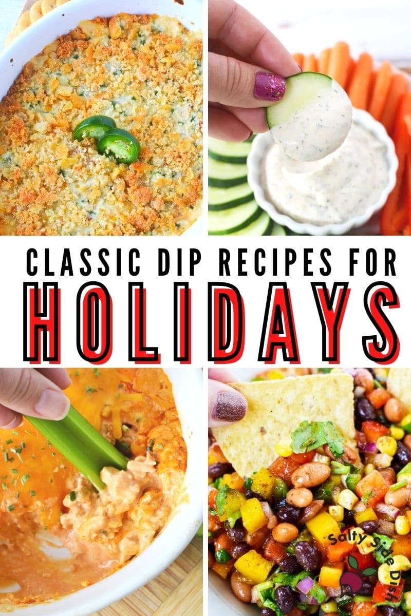 classic holiday dips college