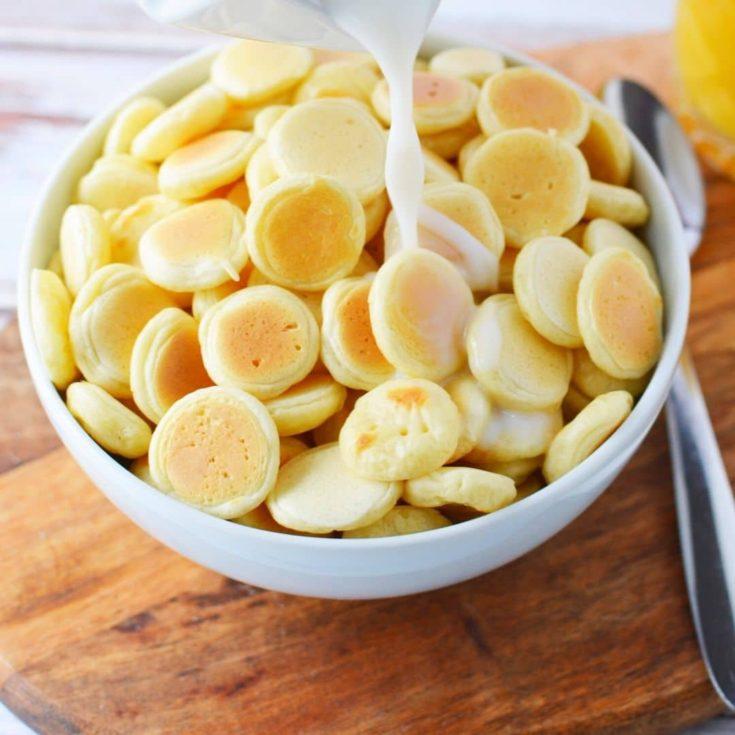 TikTok Mini Pancake Cereal