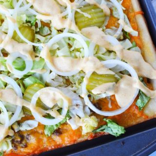 big mac pizza recipe