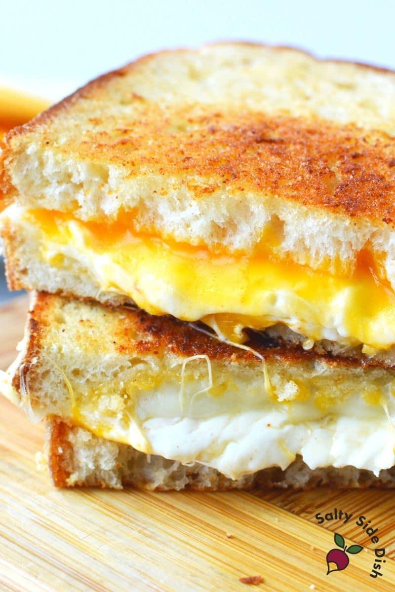super crispy grilled cheese sandwich the Disney magic way