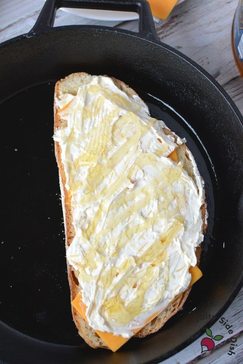 ooh the honey makes a great way to adult up this disney classic grilled cheese recipe