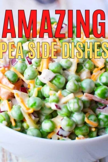 5 decadent and easy pea side dishes
