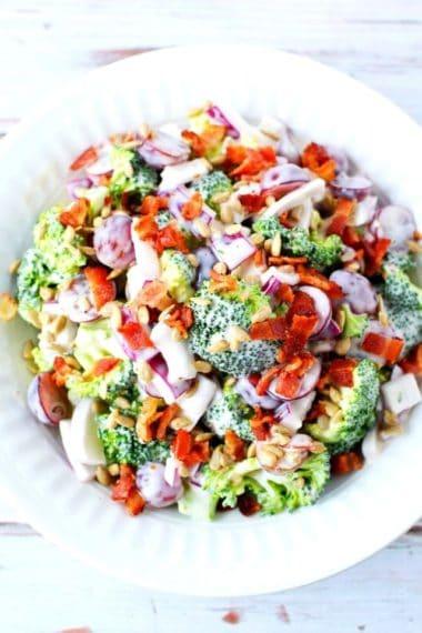 amazing delicious salad
