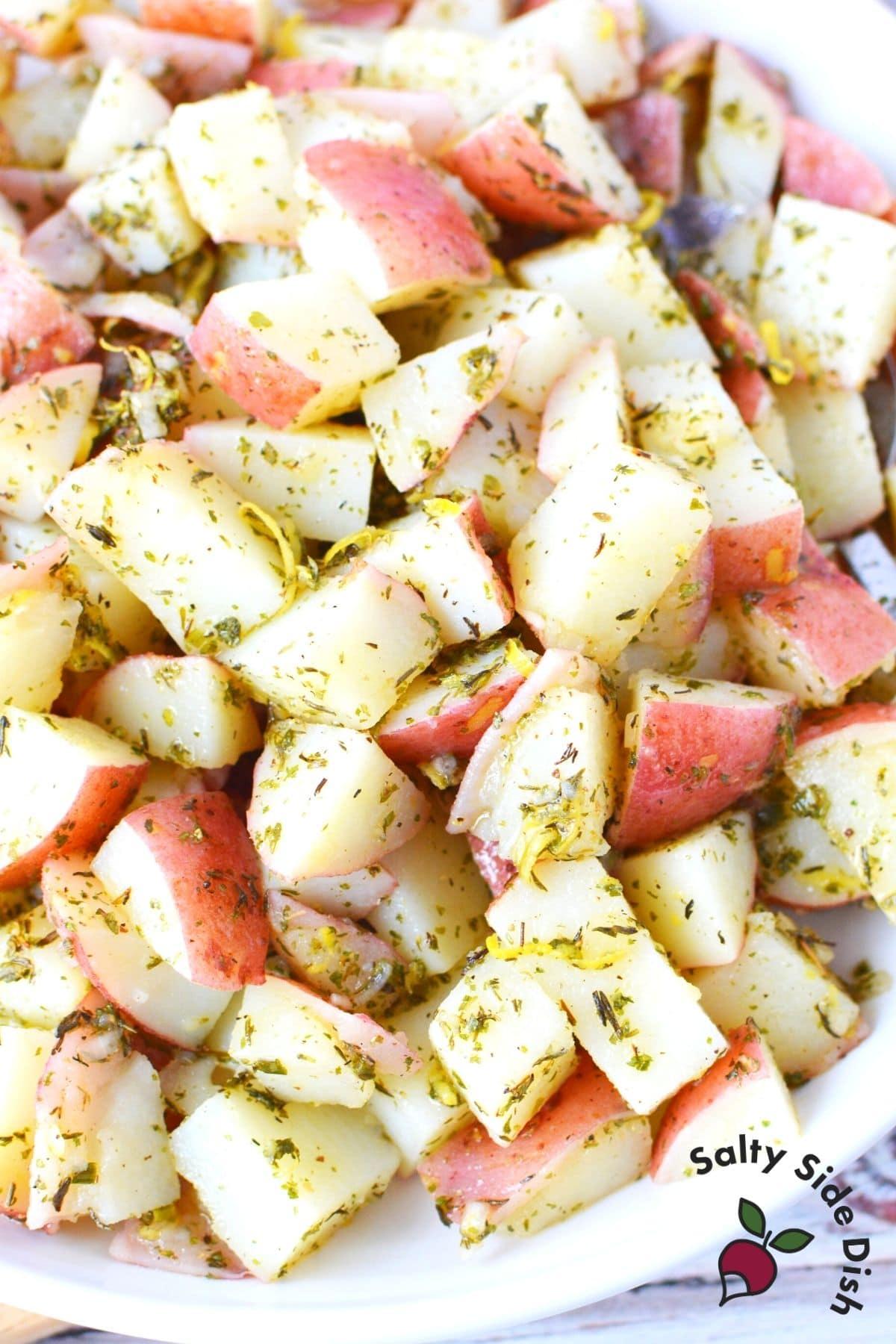 warm red potato salad recipe